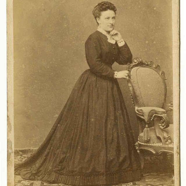Fotografia Gizely Demiány, vydatej Döller