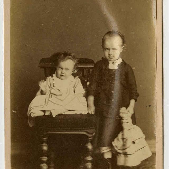 Fotografia detí - Muzeálny objekt