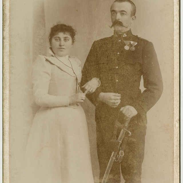 Fotografia mladého páru