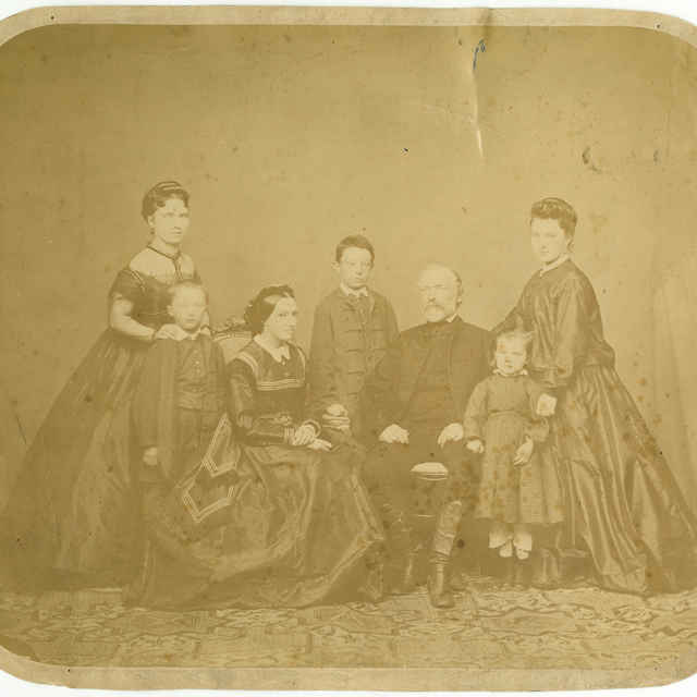 Fotografia rodiny Júliusa Demiányho z Kežmarku