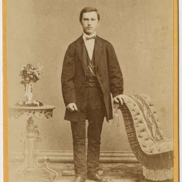 Fotografia mladého muža