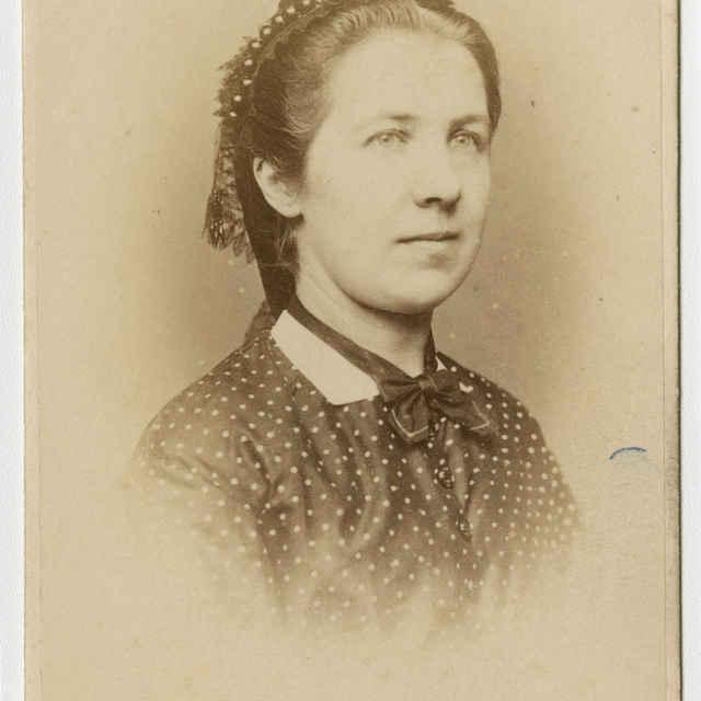 Fotografia ženy - Muzeálny objekt