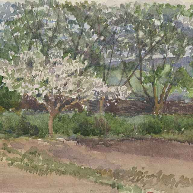 Kvitnúci strom - Mednyánszky, Ladislav