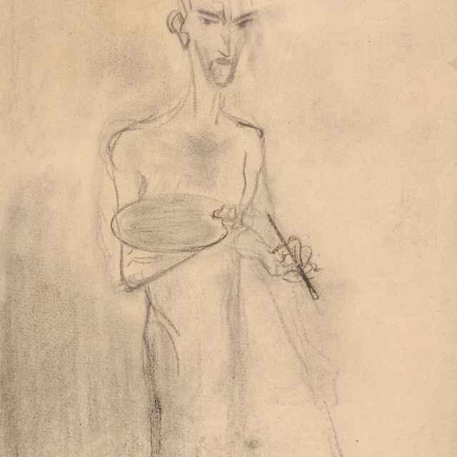 Autoportrét - Weisz-Kubínčan, Arnold Peter