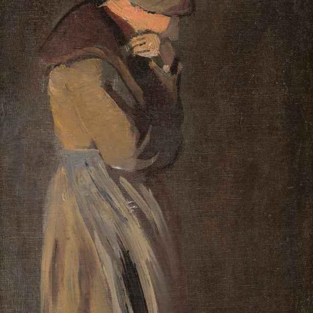 Vdova - Mednyánszky, Ladislav