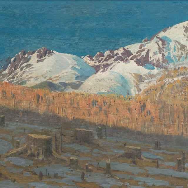 Jar v Tatrách - Katona, Ferdinand - Výtvarné umenie