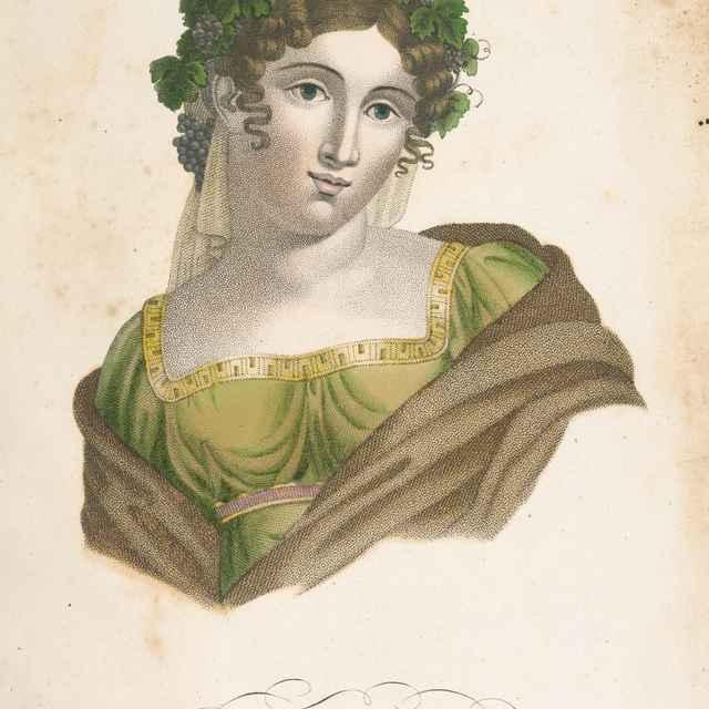 Jeseň - Taliansky maliar zo začiatku 19. storočia - Výtvarné umenie