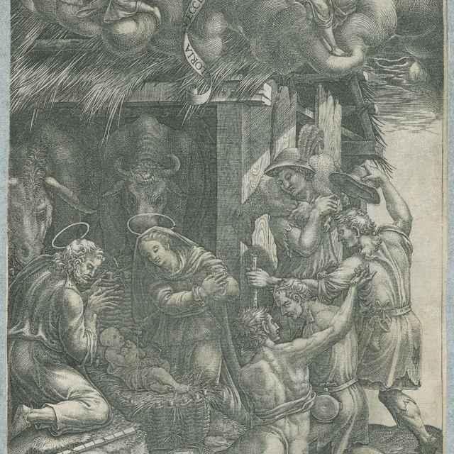 Klaňanie pastierov - Ghisi, Giorgio