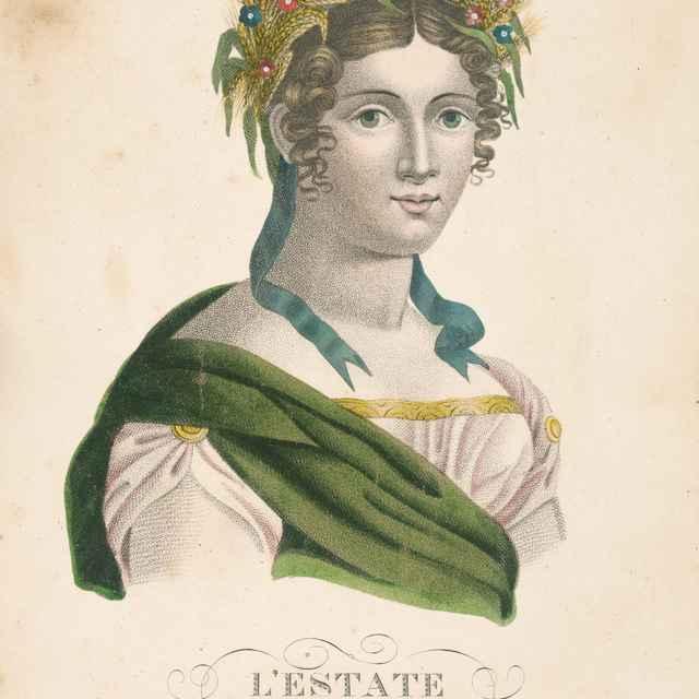 Leto - Taliansky maliar zo začiatku 19. storočia