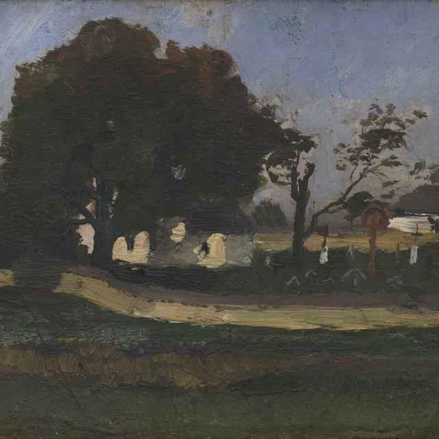 Cintorín - Mednyánszky, Ladislav