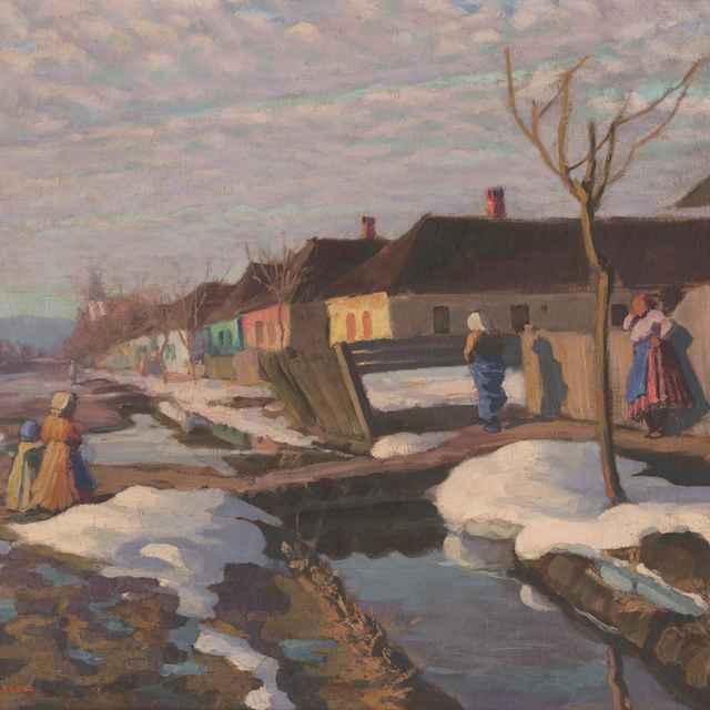 Predjarie v dedine - Mousson, Jozef Theodor