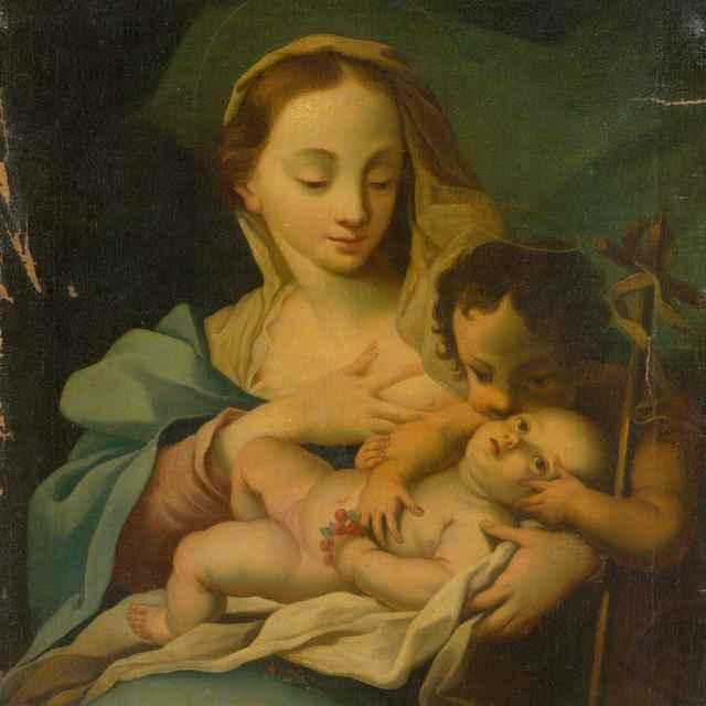 Madona s dieťaťom - Autor kópie neznámy