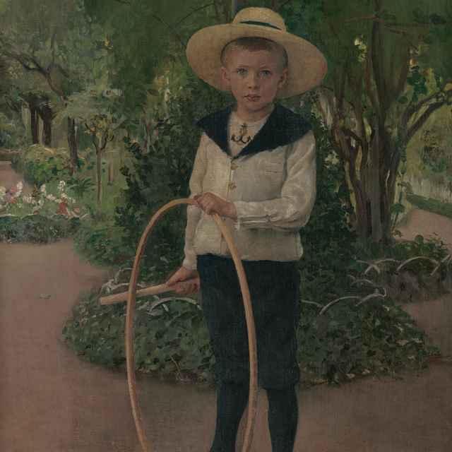 Dieťa v záhrade - Skutecký, Dominik