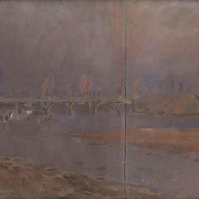 Pri rieke - Mednyánszky, Ladislav