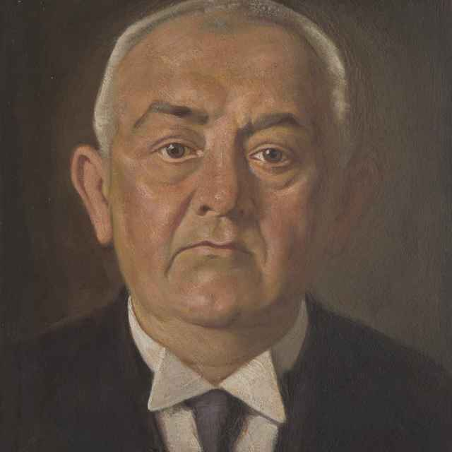 Portrét J. Országa - Mitrovský, Milan Thomka