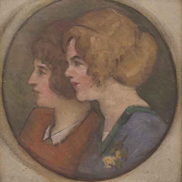 Dve ženy z profilu - Mitrovský, Milan Thomka