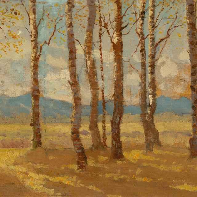Brezy na jeseň - Katona, Ferdinand - Výtvarné umenie