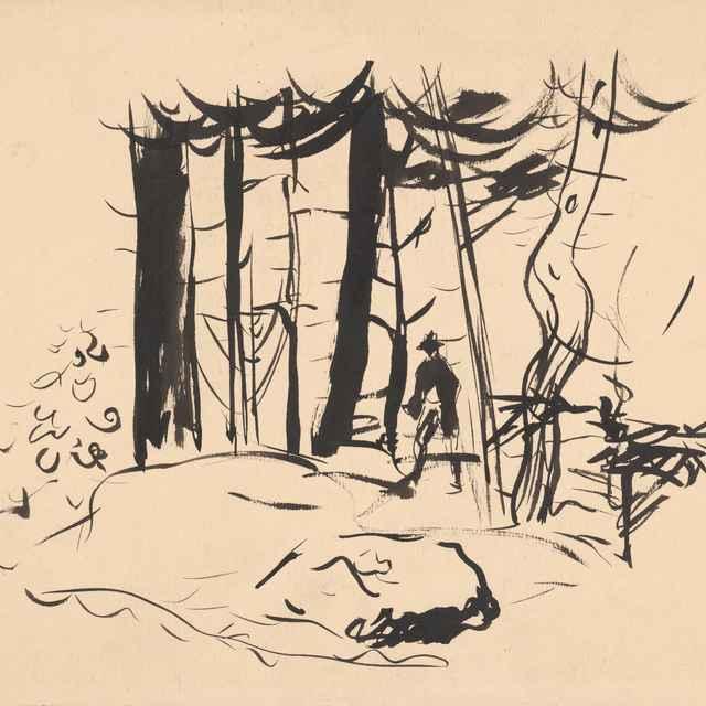 V lese - Weisz-Kubínčan, Arnold Peter
