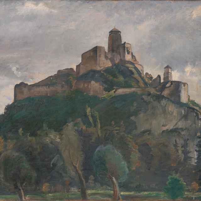 Trenčiansky hrad - Kasriel, Herman