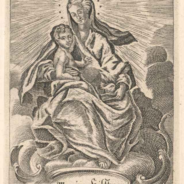 Madona na Nebesiach - Binder, János Fülöp