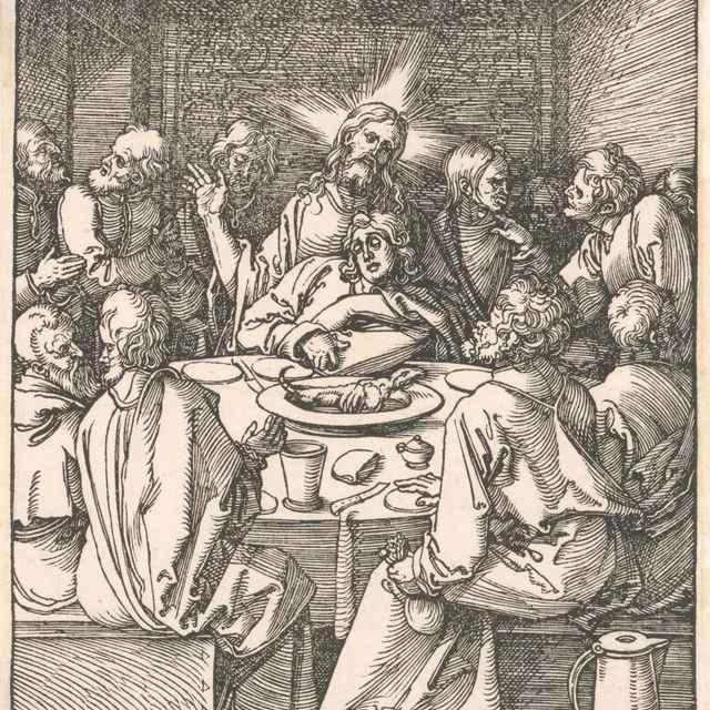 Posledná večera - Dürer, Albrecht