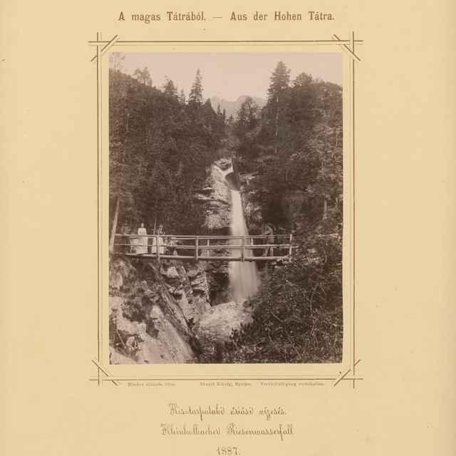 Veľký vodopád na Malom Studenom potoku - Divald, Karol