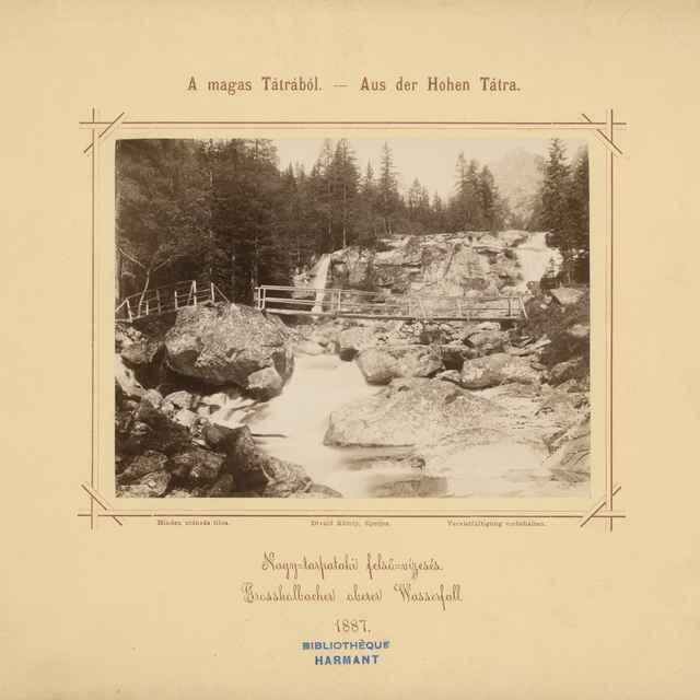 Horný vodopád Veľkého Studeného potoka - Divald, Karol