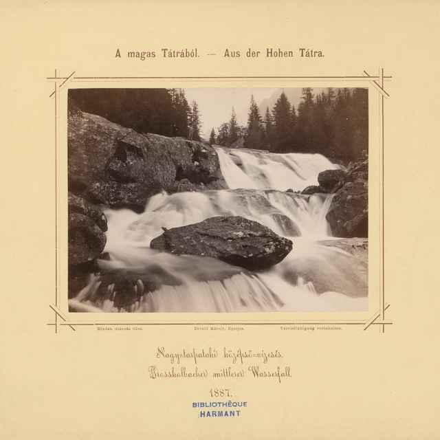 Stredný vodopád Veľkého Studeného potoka - Divald, Karol
