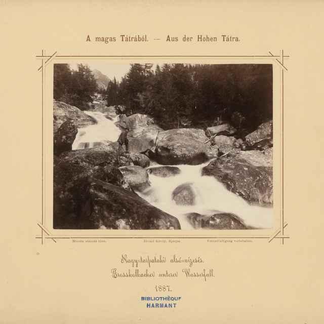 Dolný vodopád Veľkého Studeného potoka - Divald, Karol
