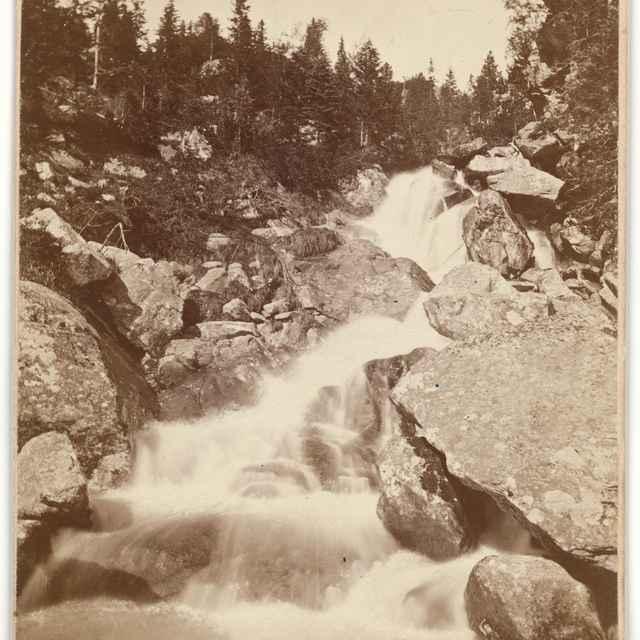 Studenovodský vodopád (Vodopád Malého Studeného potoka) - Divald, Karol