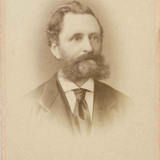 Portrét muža s bradou - Löwy, Jozef