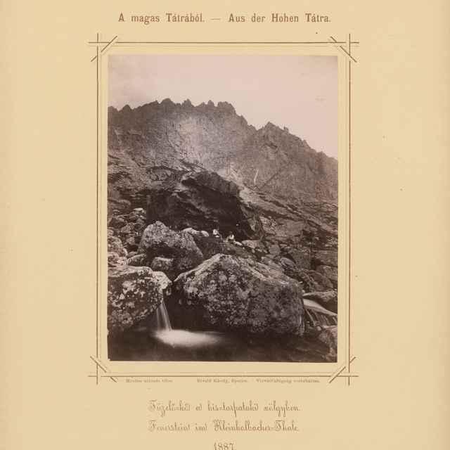 Kremencové skaly v Malej Studenej doline - Divald, Karol