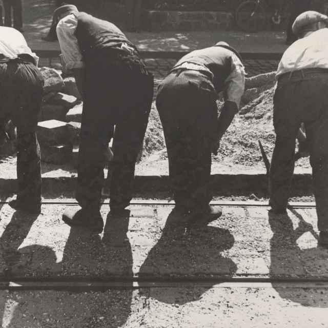 Práca na koľajnicicach - Priesner, Ernest