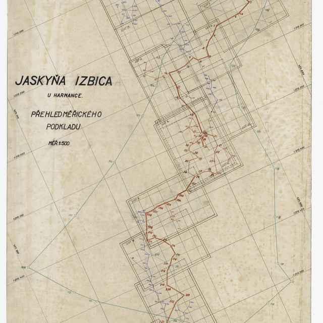 Harmanecká jaskyňa (mapa) - G. Bártu