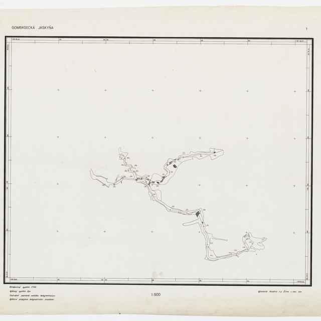 Gombasecká jaskyňa (mapa) - Fašiang