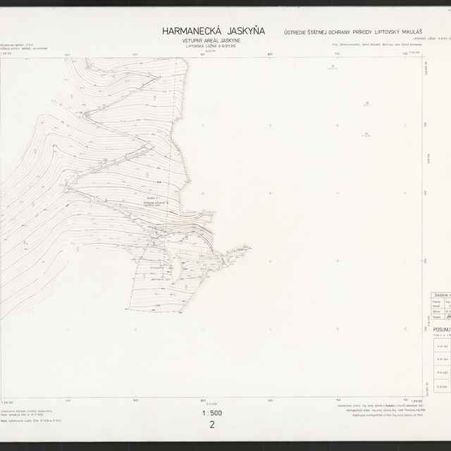 Harmanecká jaskyňa (mapa) - Sýkora, Juraj