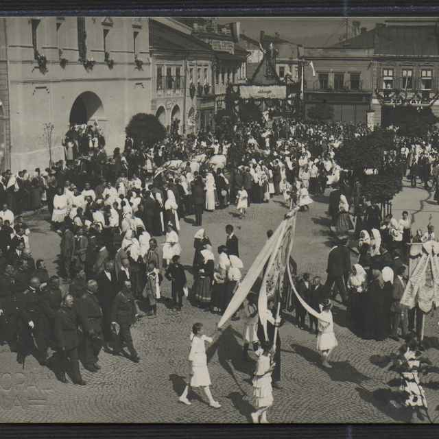 Fotografia slávnosti v Žiline - Vykopal, Ján