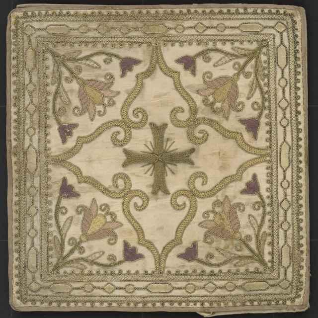 Bursa, rôznofarebná ornamentálna výšivka, hodváb