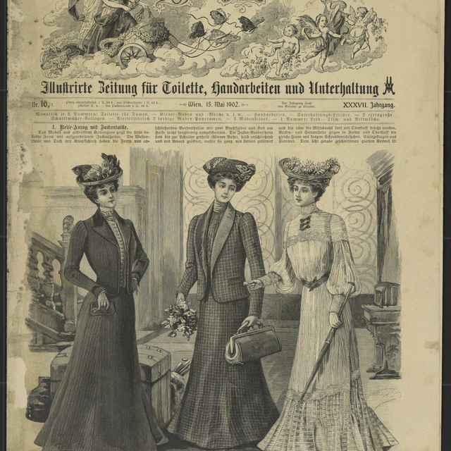 Časopis módny - neznámy (osobné meno)