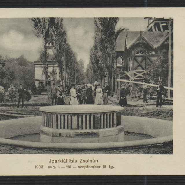 Pohľadnica - Žilina, Priemyselná výstava 1903 - neznámy (osobné meno)