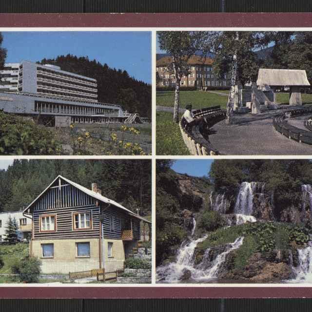 Pohľadnica: Kúpele Lúčky