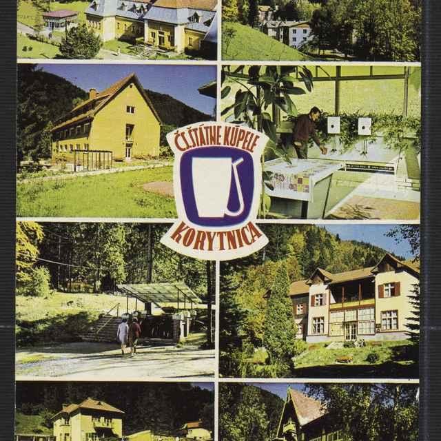 Pohľadnica: Kúpele Korytnica