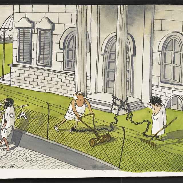 Kresba Ľudovíta Juhása z Košíc