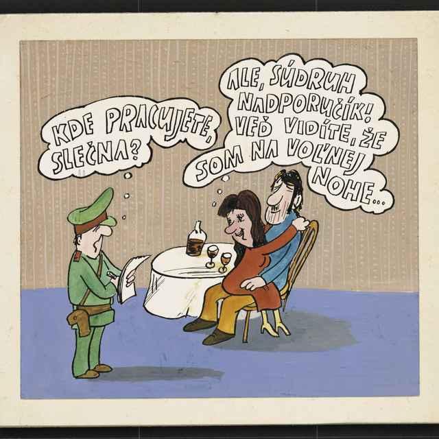 Kresba Andreja Mišánka