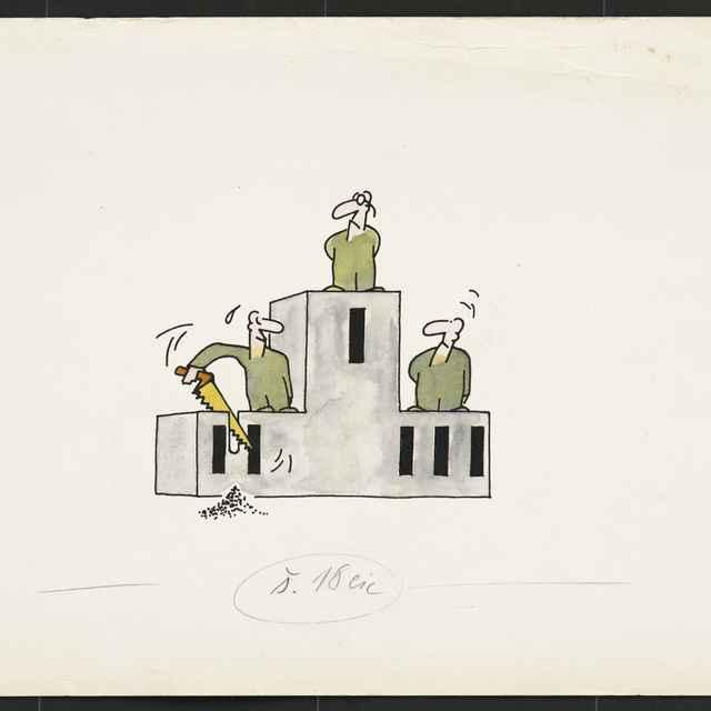 Kresba Ladislava Mokráňa