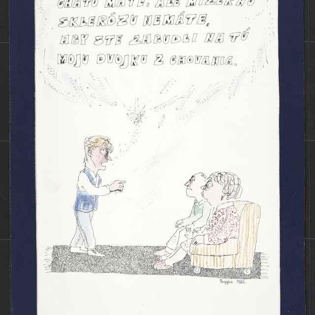 Kresba Alexandra Bugyácsa zo Štúrova