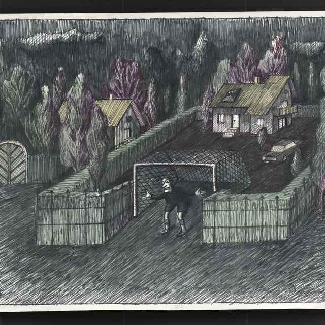 Kresba Fedora Vicu z Prešova