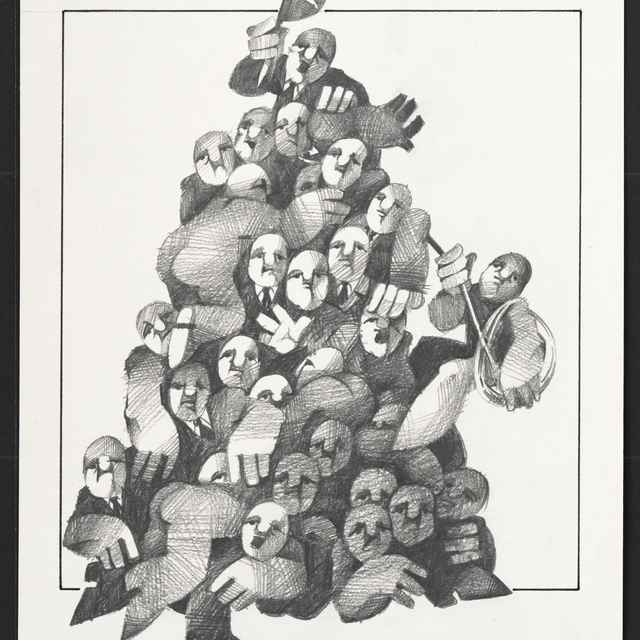 Kresba Bohuslava Perneckého