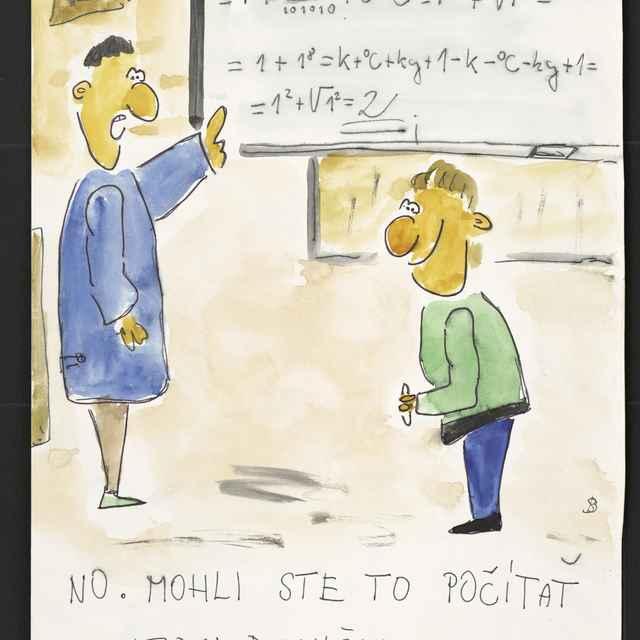 Kresba Branislava Sopúcha