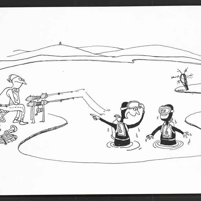 Kresba Zdeňka Hofmana